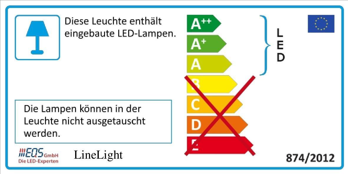 Energielabel EQS Linelights