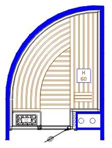 Sauna ontwerp