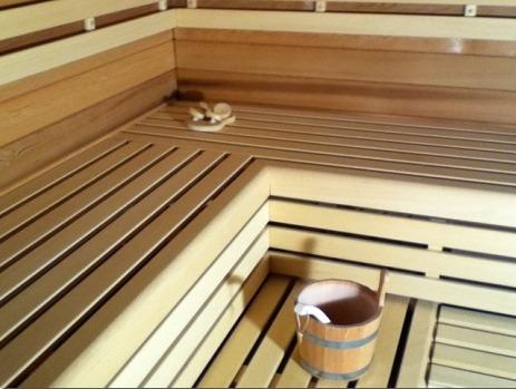 Saunabanken, in elke gewenste afmeting